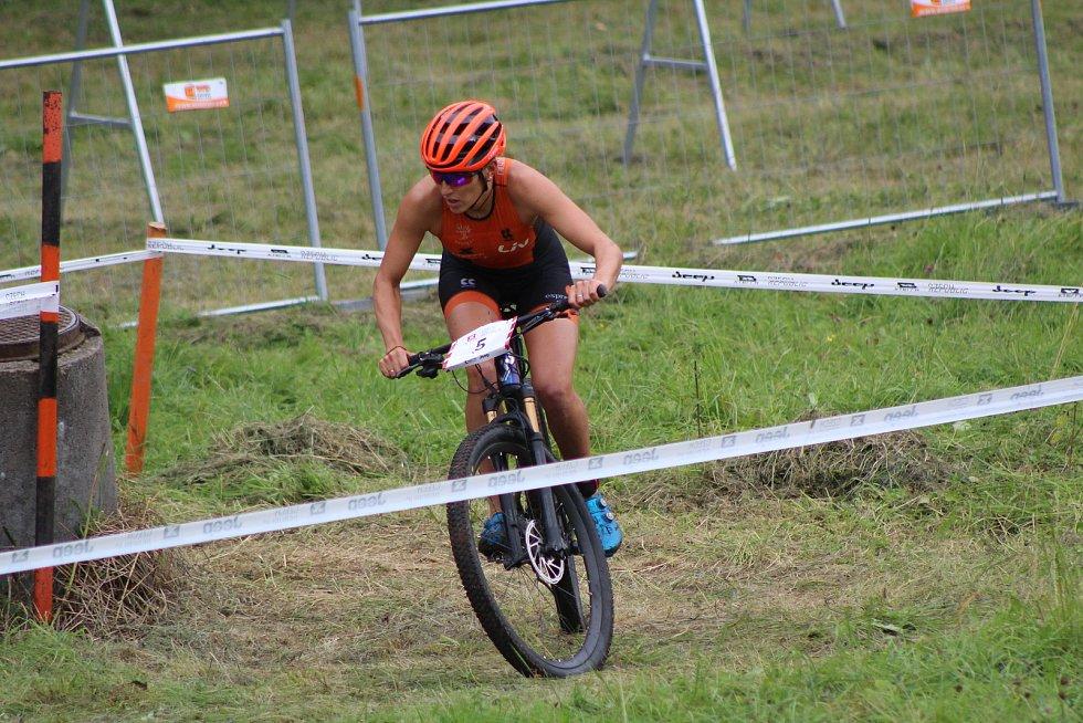 XTERRA Czech 2020 Short track ženy