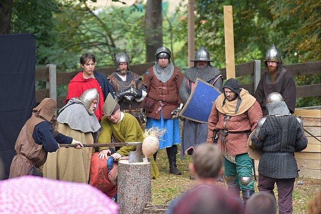 Víkendovou Bitvu na Winterbergu si užili děti i dospělí.