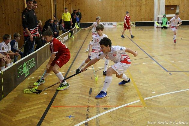 Mladí florbalisté se představili na turnaji ve Vimperku.