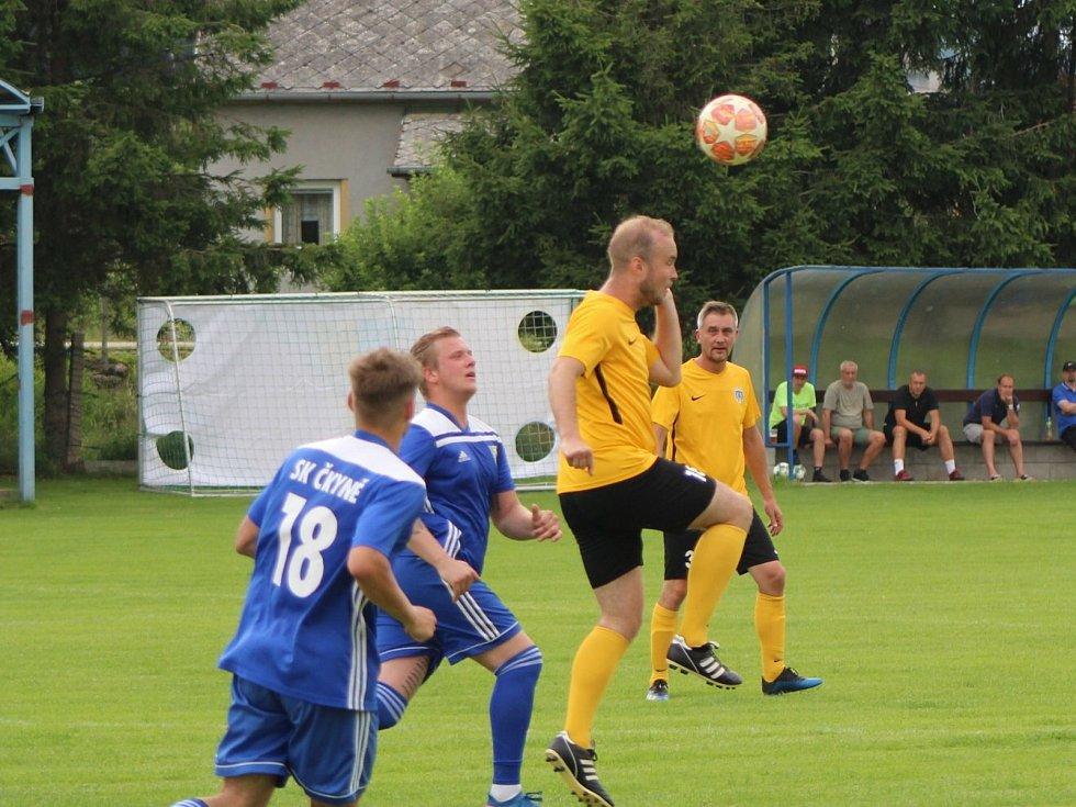 Fotbalová příprava: Čkyně - Kovářov 4:2.