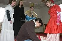 Soustředění malých divadelníků.