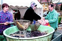 Ryby vydělaly přes osm tisíc korun nemocným v prachatickém hospici.