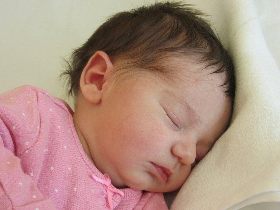 JOHANKA BRATHOVÁ, VIMPERK. Narodila se v úterý 10. března v 18 hodin a 32 minut v prachatické porodnici. Vážila 3100 gramů. Rodiče: Lucie Brožková a František Brath.