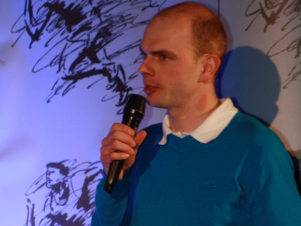 Jan Hron převzal cenu za devátou Barboru Hlaváčovou.