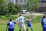 Fotbalová I.B třída: Vacov - Sousedovice 1:1.