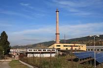 Kotelna v areálu společnosti Klima.