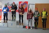 Vimperská lyžařka Barbora Havlíčková pokračovala ve výborných výkonech i v rakouském Seefeldu.