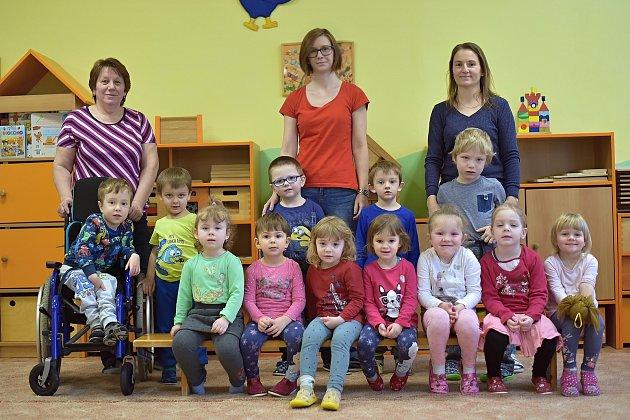 Mateřská škola Vimperk, Klostermannova ulice, odloučené pracoviště vMírové ulici, 1.třída.