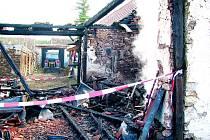 Na Vitějovicku vzplál požár podeváté za dva roky.