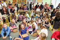 Zahájení školního roku v Základní škole Čkyně.