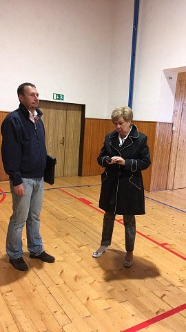 Na místo dorazila i hejtmanka Ivana Stráská.