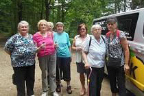Tetičky od Baráčníků se vydaly na prohlídku Areálu lesních her na Lázních sv. Markéty v Prachaticích.