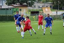 Fotbalová příprava: Tatran Prachatice - Sokol Sezimovo Ústí 3:3.