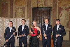Klainetový soubor Prachatice si přivezl zlaté ocenění z Mezinárodního festivalu Mozartova Praha.