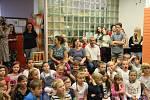 První školní den na ZŠ Národní Prachatice.