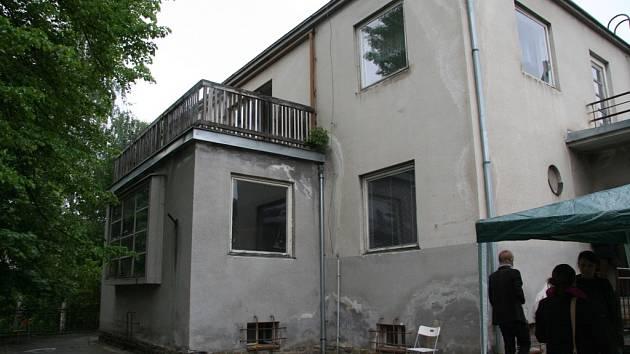 Kralova vila v prachatické Nádražní ulici.