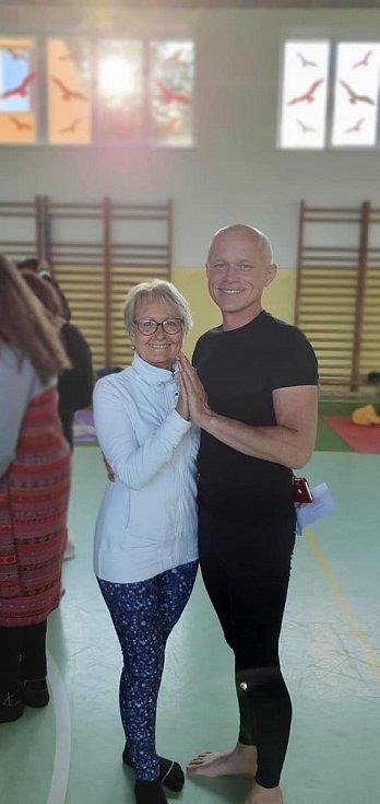 Jóga provází sportovní život cvičitelky Hanky Šimákové mnoho let.