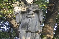 Na posledním říjnovém zasedání zastupitelé řešili, kam přemístit sochu Karla Klostermanna, která je nyní umístěna na Javorníku. Ilustrační foto.