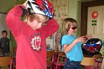 Děti se zaměřily na dopravní výchovu.