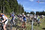 Zadov hostil další díl Českého poháru cross country horských kol.