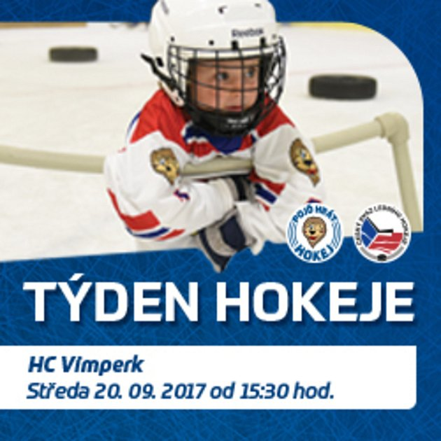Vimperští se zapojili do akce Týden hokeje.