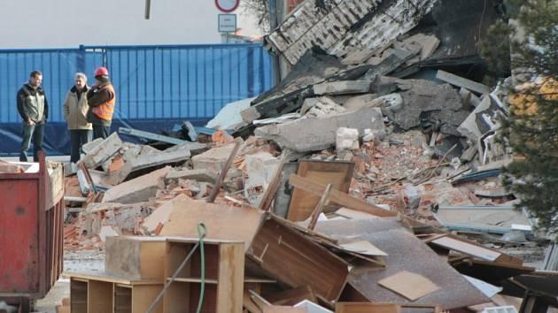 Bývalý závod Madeta v Prachaticích zmizel při demolici.