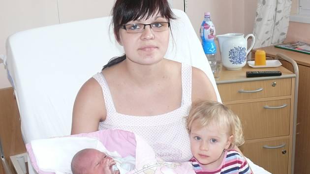 Nikol Hrdličková se narodila v prachatické porodnici v pátek 25. ledna ve 14.00 hodin. Vážila 2,95 kilogramu a měřila 48 centimetrů. Rodiče Renata a Miroslav si dceru odvezli domů, do Husince, kde čekala sestřička Zuzanka (2 roky).