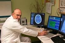 Radiodiagnostické oddělení prachatické nemocnice.