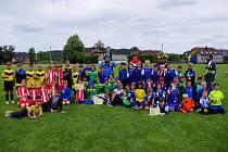 Mladí hokejisté se tentokrát představili ve fotbale.