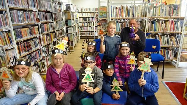 Veselé a tvůrčí podzimní prázdniny v prachatické knihovně.