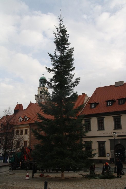 Vánoční strom v centru Prachatic by měli pracovníci technických služeb v úterý 25. listopadu ozdobit vánočním osvětlením. To se poprvé rozzáří v neděli 30. listopadu po osmnácté hodině.
