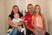 Tomáš Bauer se rodičům Veronice a Josefovi narodil 4. dubna.