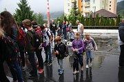 První školní den ZŠ Národní Prachatice.