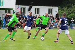 Fotbalová exhibice ve Strunkovicích měla již svůj desátý ročník.