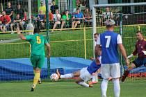 Fotbalový KP: Tatran Prachaice - Třeboň 3:2 (3:1).