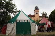 Národní kulturní památka zámek Vimperk.