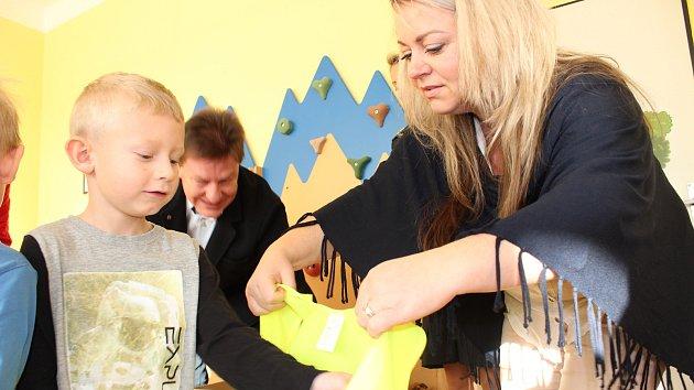 Reflexní vesty pro školky