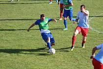 Fotbalový OP Prachaticka: Svatá Maří - Zdíkov 1:4.