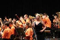 Vimperská dechovka koncertovala v Cihelně.