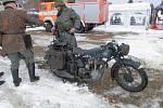 Příval sněhu na Šumavě byl pro vojáky jen drobnou komplikací.