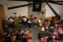 Vánoční koncert ZUŠ Vimperk.