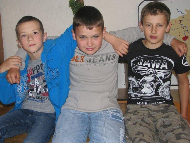 O turismu jsme si povídali s Václavem Zochem (10 let), Alešem Jůzou (10 let) a Martinem Jiraněm (10 let). Všichni chodí na Základní školu v Netolicích.