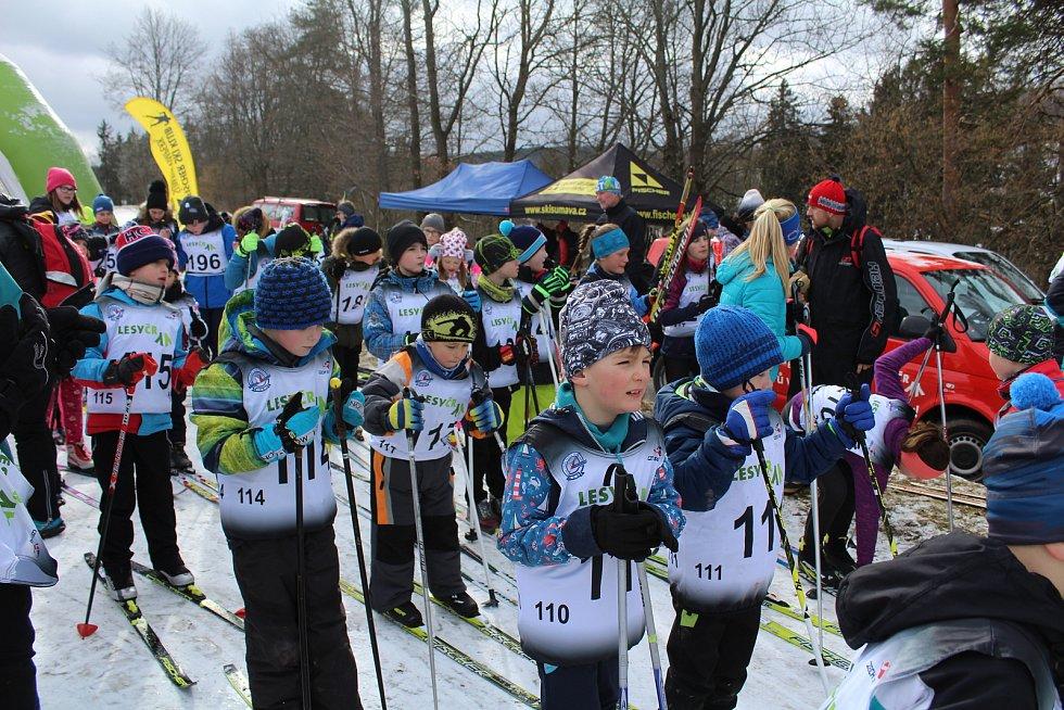 Lyžařský nábor přilákal na Vodník přes dvě stovky dětí ze základních škol.