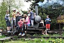 Na poutníky, kteří se vydali vlakem do Nového Údolí, čekal bohatý program.