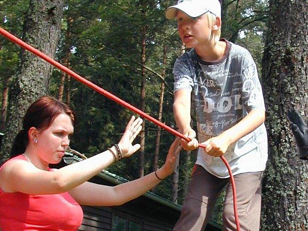 Letošní tábor stráví děti ze sociálně slabých rodin na Lipně.