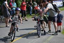 Nejmenší triatlonisté absolvovali tradiční závod v Prachaticích.