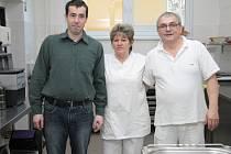 Jan Chvosta, Markéta Roffeisová a Zdeněk Jaroš.