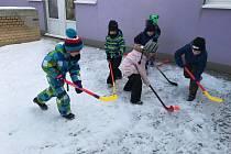 Děti v prachatickém Paraplíčku žily zimní olympiádou.