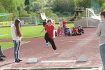 23. ročník atletických Rekordů školy ZŠ Zlatá stezka Prachatice