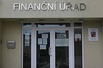 Územní pracoviště Finančního úřadu v Prachaticích.